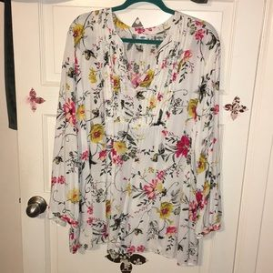 Old Navy Pintuck Blouse